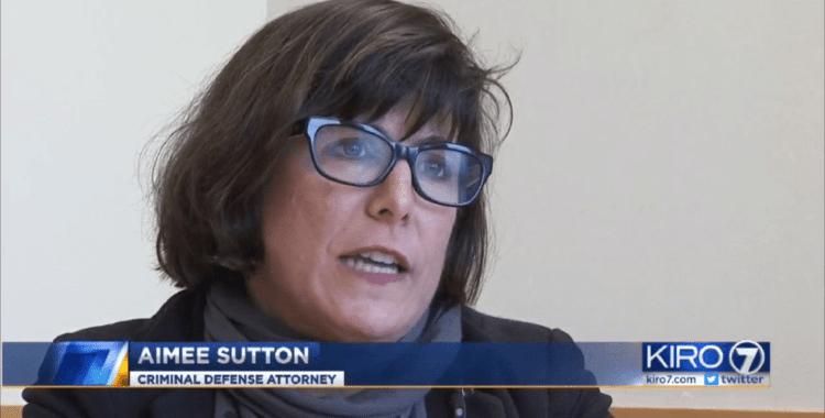Aimée Sutton interview on KIRO 7 TV News